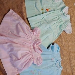 Vintage girls dresses size 3 to 6 months boutiques